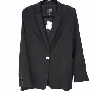 The Limited one button boyfriend blazer black. L